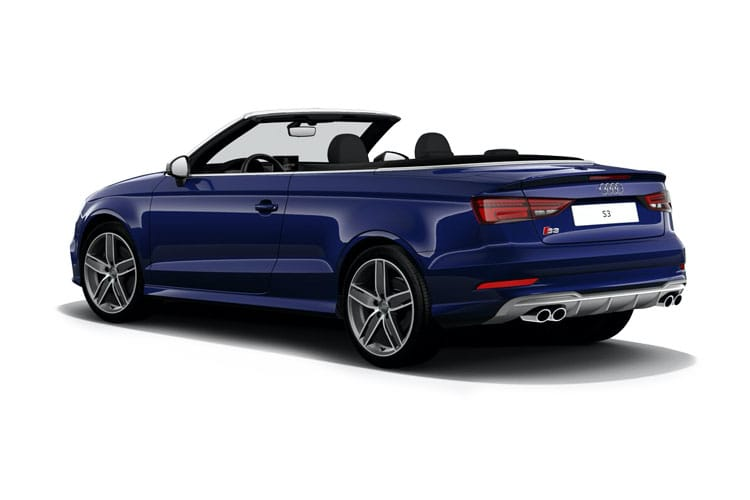Audi A3 35 Cabriolet 2Dr 1.5 TFSI 150PS S line 2Dr Manual [Start Stop] back view