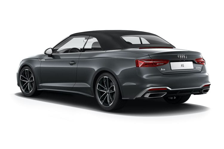 Audi A5 45 Cabriolet quattro 2Dr 2.0 TFSI 245PS Edition 1 2Dr S Tronic [Start Stop] back view