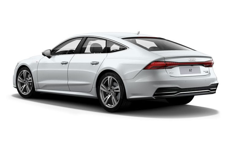 Audi A7 45 Sportback quattro 5Dr 2.0 TFSI 245PS Black Edition 5Dr S Tronic [Start Stop] [Comfort Sound] back view