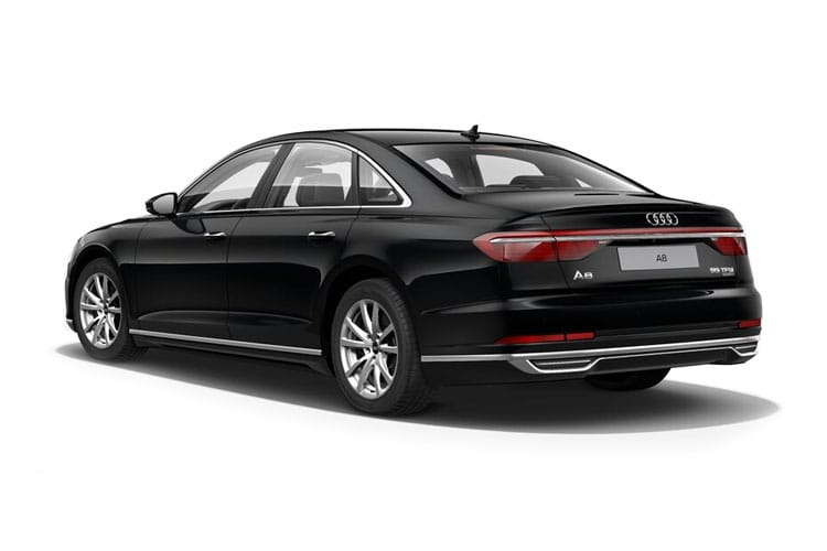 Audi A8 50 Saloon quattro LWB 4Dr 3.0 TDI V6 286PS Black Edition 4Dr Tiptronic [Start Stop] back view