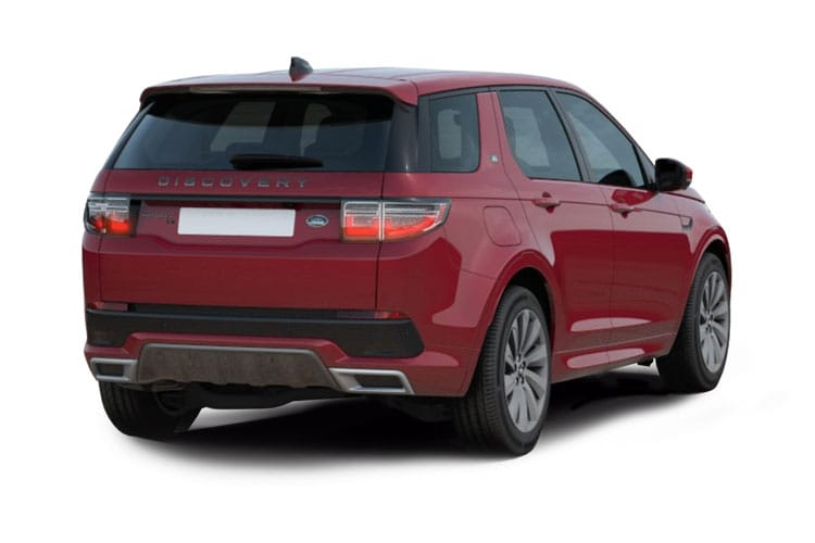 Land Rover Discovery Sport SUV 2.0 D MHEV 163PS R-Dynamic S Plus 5Dr Auto [Start Stop] [5Seat] back view