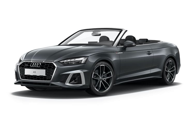 Audi A5 45 Cabriolet quattro 2Dr 2.0 TFSI 245PS Edition 1 2Dr S Tronic [Start Stop] front view
