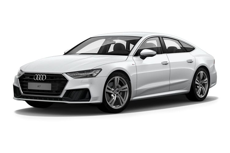 Audi A7 45 Sportback quattro 5Dr 3.0 TDI V6 231PS Sport 5Dr Tiptronic [Start Stop] front view