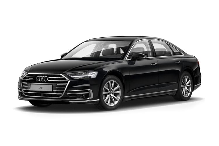 Audi A8 55 Saloon quattro 4Dr 3.0 TFSI V6 340PS Black Edition 4Dr Tiptronic [Start Stop] front view