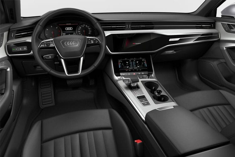 Audi A6 50 Avant quattro 3.0 TDI V6 286PS Black Edition 5Dr Tiptronic [Start Stop] inside view