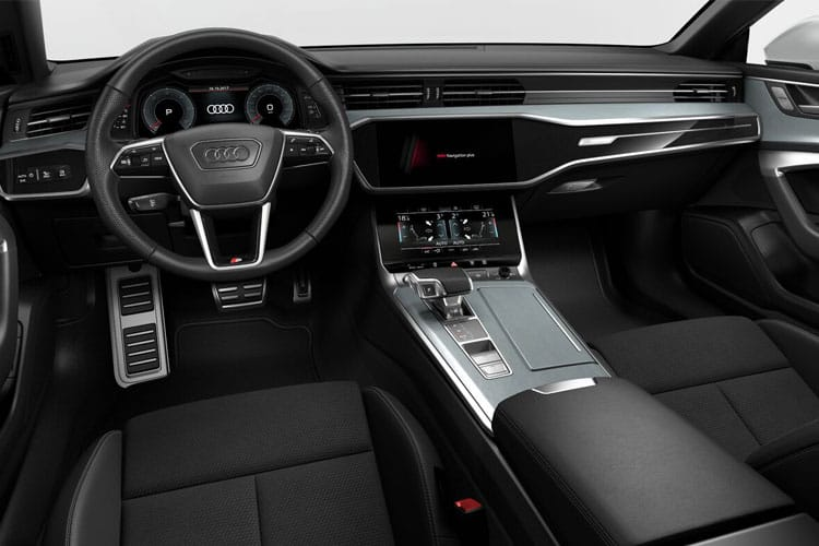 Audi A7 45 Sportback quattro 5Dr 2.0 TFSI 245PS Black Edition 5Dr S Tronic [Start Stop] [Comfort Sound] inside view