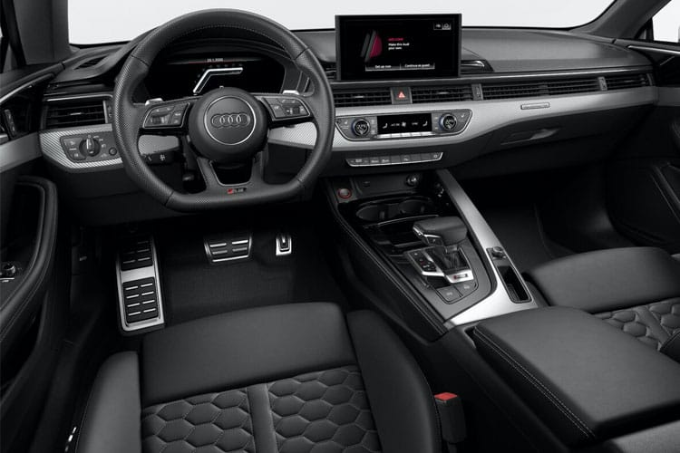 Audi A5 40 Coupe 2Dr 2.0 TDI 190PS Black Edition 2Dr S Tronic [Start Stop] [Technology] inside view