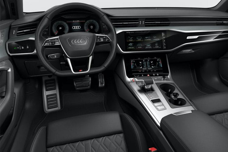 Audi A6 50 Saloon quattro 3.0 TDI V6 286PS Vorsprung 4Dr Tiptronic [Start Stop] inside view